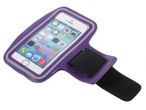 Sportarmband till iPhone 8 Plus 7/6 Plus - Lila