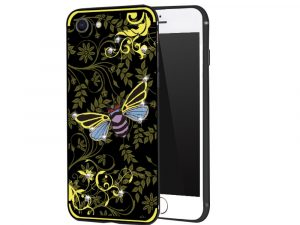 NXE iPhone 8 Plus / iPhone 7 Plus Skal - Yellow Bee
