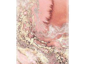RF by Richmond & Finch skal till IPhone 8/7/6 - Pink Marbel Gold