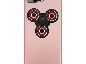 Skal iPhone 7 Plus med avtagbar Fidget Spinner - Rose/Svart