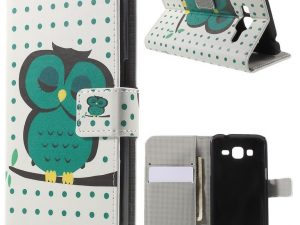 Plånboksfodral till Samsung Galaxy Core Prime Napping Owl