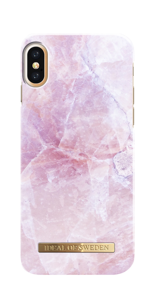 iDeal Of Sweden iPhone X / XS Marmor skal - Pilion Pink