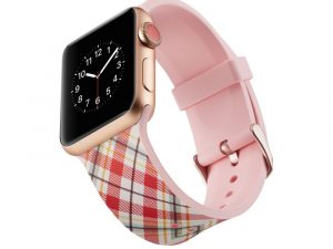 Silicone klockrem för Apple Watch 4 44mm, 3/2/1 42mm - Lattices