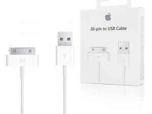 Apple iPhone 4 / 4s Original kabel MA591G/A i Butiksförpackning