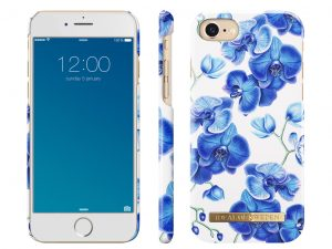 iDeal Of Sweden iPhone 6/6S/7/8 skal - BABY BLUE ORCHID
