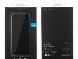 ROCK Hybrid TPU - PC till Samsung Galaxy S8 - Transparant