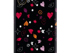 RF by Richmond & Finch skal till IPhone X / XS - Heart and kisses