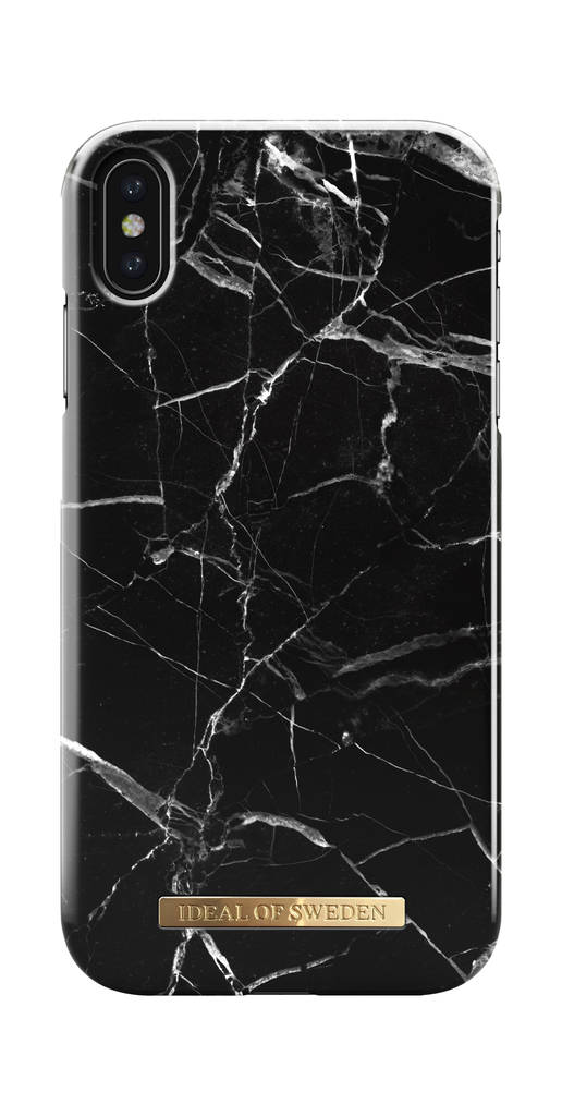 iDeal Of Sweden iPhone XS Max Marmor skal - Black Marble