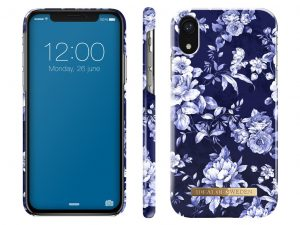 iDeal Of Sweden iPhone XR skal - Sailor Blue Bloom