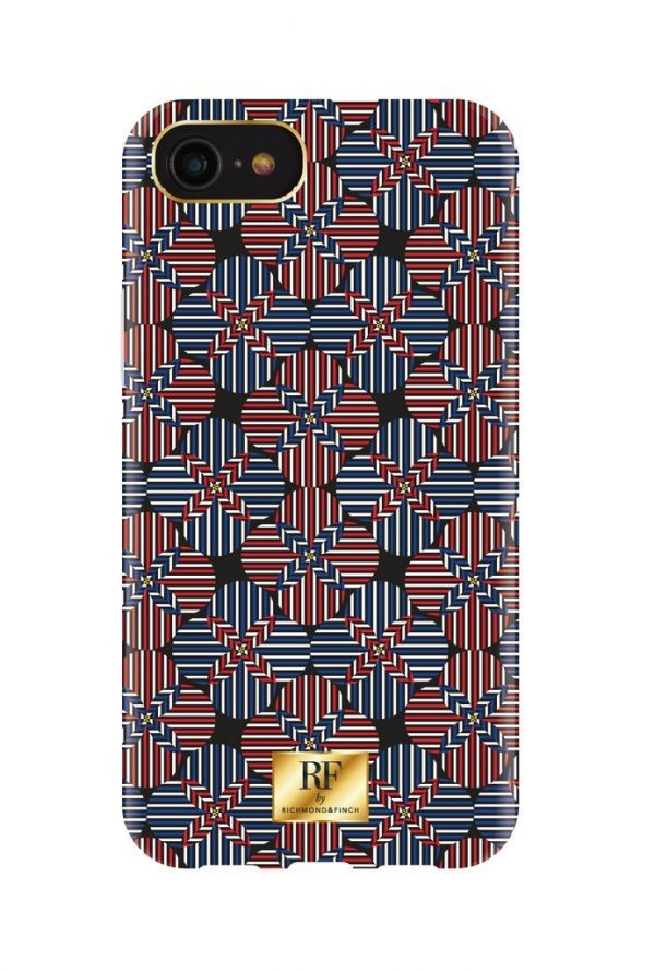 RF by Richmond & Finch skal till IPhone 8/6/7 - Tommy Stripes