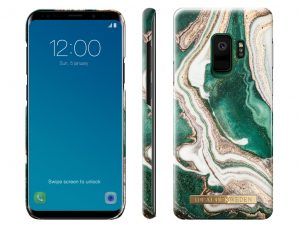 iDeal Of Sweden Samsung Galaxy S9 - Golden Jade Marble