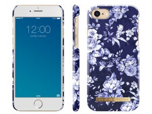 iDeal Of Sweden iPhone 6/6S/7/8 skal - Sailor Blue Bloom