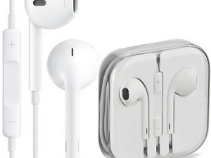 Apple EarPods fjärrkontroll mikrofon MD827ZM/B 3,5mm BULK