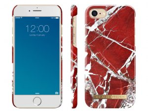 iDeal Of Sweden iPhone 6/6S/7/8 skal - Red Marble