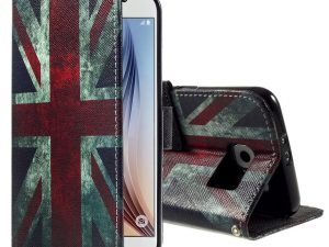 Samsung Galaxy S6 Union Jack UK Plånbokfodral