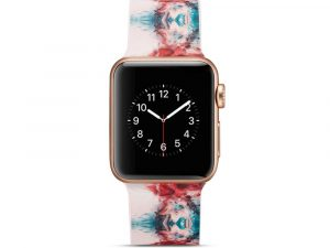 Silicone klockrem för Apple Watch 4 40mm, 3/2/1 38mm - Colorized Pattern