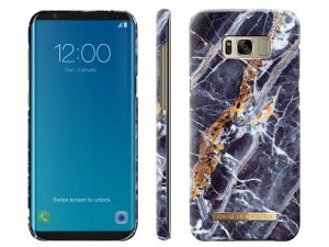 iDeal Of Sweden Samsung Galaxy S8 plus Marmor skal - Midnight Blue Marble