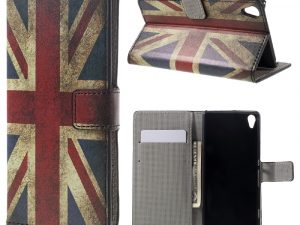 Sony Xperia XA Plånboksfodral Retro UK Flag