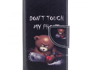 Sony Xperia XZ1 Compact Plånboksfodral - Bear with Saw