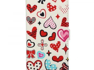 Sony Xperia XA2 Plånboksfodral Hearts and Polka Dots