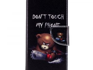 Samsung Galaxy S8 Plånboksfodral - Do not Touch My Phone