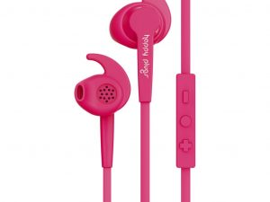 HAPPY PLUGS In-Ear Sport MFI - Cerise
