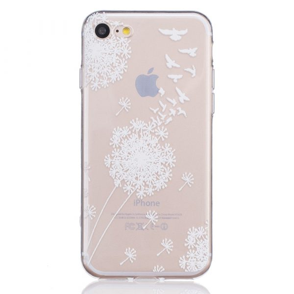 iPhone 7 / iPhone 8 TPU Skal - Dandelion and Birds