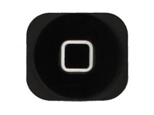 iPhone 5 Hemknapp / Home Button - Svart