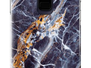iDeal Of Sweden Samsung Galaxy S9 Plus - MIDNIGHT BLUE MARBLE