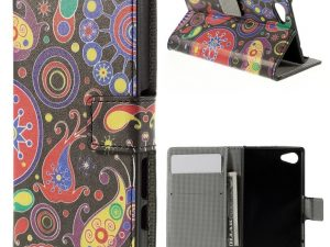 Sony Xperia Z5 Compact Plånboksfodral Paisley Pattern