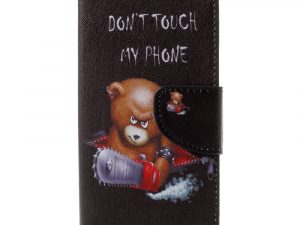 Huawei Honor 9 Plånbokfodral - Bear Don't Touch