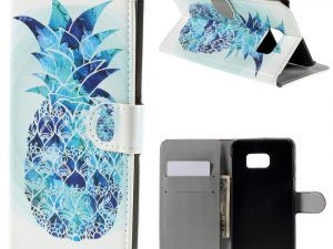 Samsung Galaxy NOTE 5 Plånboksfodral Blue Pineapple