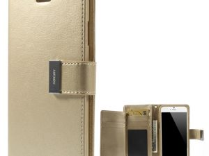 Mercury GOOSPERY Rich Diary till iPhone 6 / 6s Champagne