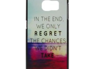Samsung Galaxy S6 Hard Case skal Quote and Sea