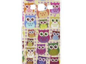 Samsung Galaxy Core Prime TPU skal Multiple Cute Owls