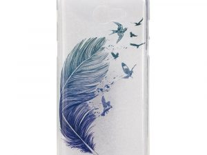 Samsung Galaxy A3 (2017) TPU IMD Skal - Feather and Birds
