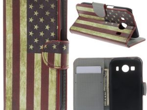 Samsung Galaxy Ace 4 US The Old Glory Plånboksfodral