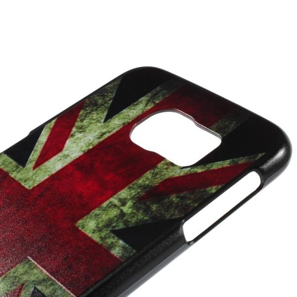 Samsung Galaxy S6 Hard Case skal Retro UK Flag