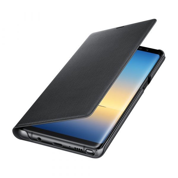 Samsung Galaxy Note 8 LED view cover SVART