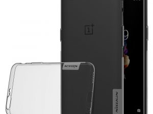 NILLKIN OnePlus 5 Nature Series 0.6mm TPU - Grå