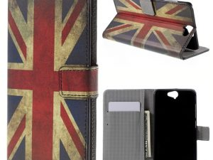 HTC One A9 Plånboksfodral Vintage UK Flag