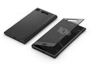 Sony Xperia XZ1 Style Cover Touch SCTG50 - Svart