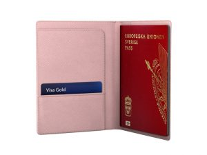 iDeal Of Sweden iDeal Passport Cover - Rosa