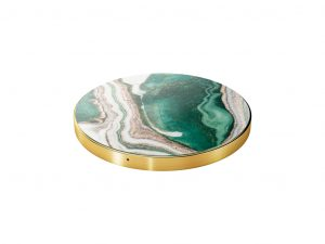 iDeal of Sweden fashion Qi laddare - Golden Jade Marble