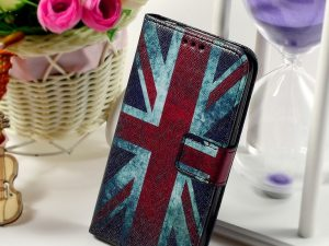 Samsung Galaxy Core Prime SM-G360 Fodral Retro UK Flag