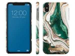 iDeal Of Sweden IPhone XS Max - Golden Jade Marble