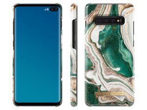 iDeal Of Sweden Samsung Galaxy S10+ - Golden Jade Marble