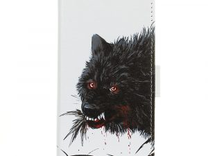 Sony Xperia L3 Plånbokfodral - Bloody Wolf
