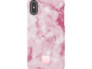 Happy Plugs Pink Marble iPhone X/XS