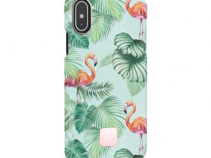 Happy Plugs Pink Flamingos iPhone X/XS